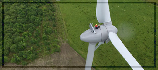 HLS Wind - Our Services - Wind Turbine Inspection